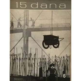 15 DANA ČASOPIS 1963. BROJ 6